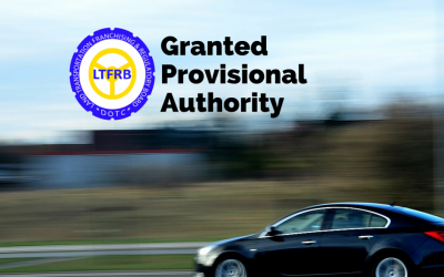 Results of Provisional Authority from LTFRB