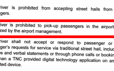 Uber News: Uber Drivers CANNOT Pickup Passengers from the Airport Anymore