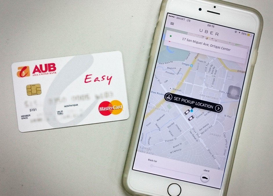 Rider Tip: AUB Easy credit card can be used for Uber
