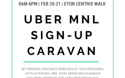 Join the Uber Caravan this Weekend for effortless Partner Signup!
