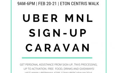 Join the Uber Caravan this Weekend for effortless Partner Signup!