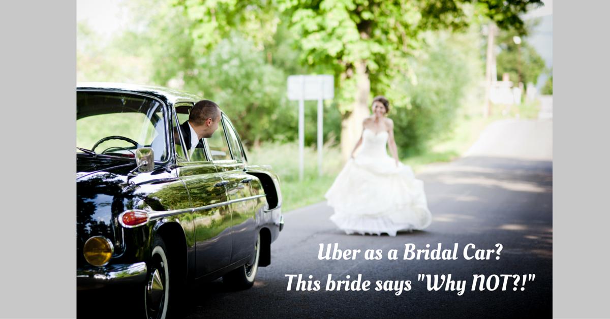 Uber story bridal car