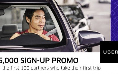 Get Php 5000 Uber Sign-Up Bonus!