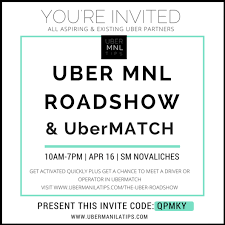 Uber Roadshow Invite 2016