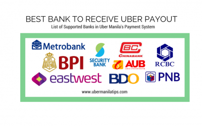 Partner Tip: List of Supported Banks in Uber Manila 2016