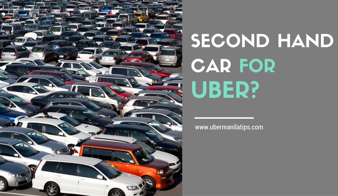 Why Consider a Second-Hand Car for Uber?