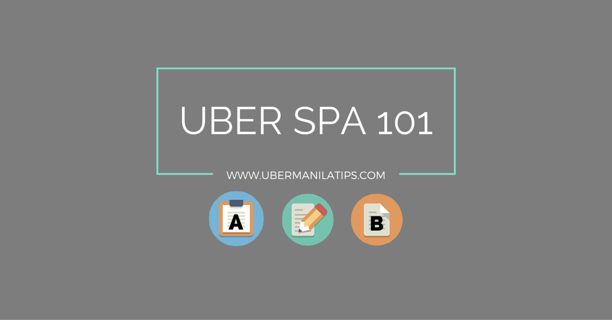 Uber SPA Forms for TNVS