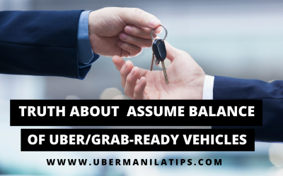 Truth About Assume Balance of Uber Ready Vehicles