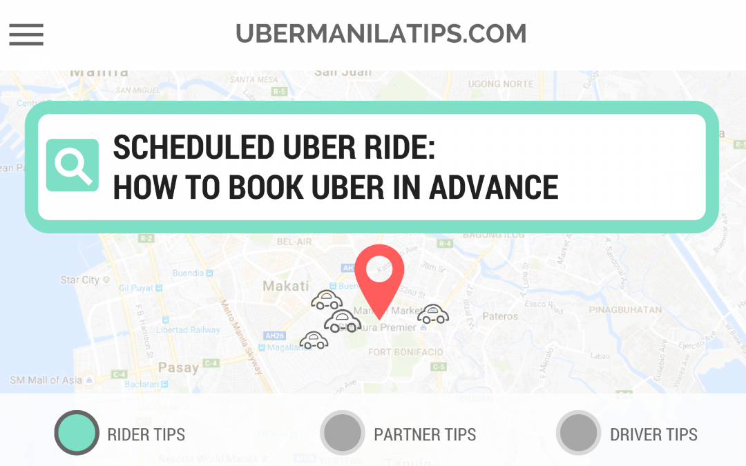 How to Book Uber in Advance?