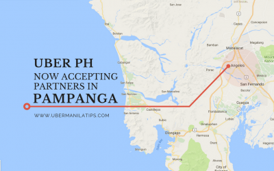 Uber Pampanga Now Accepting Partners and Drivers